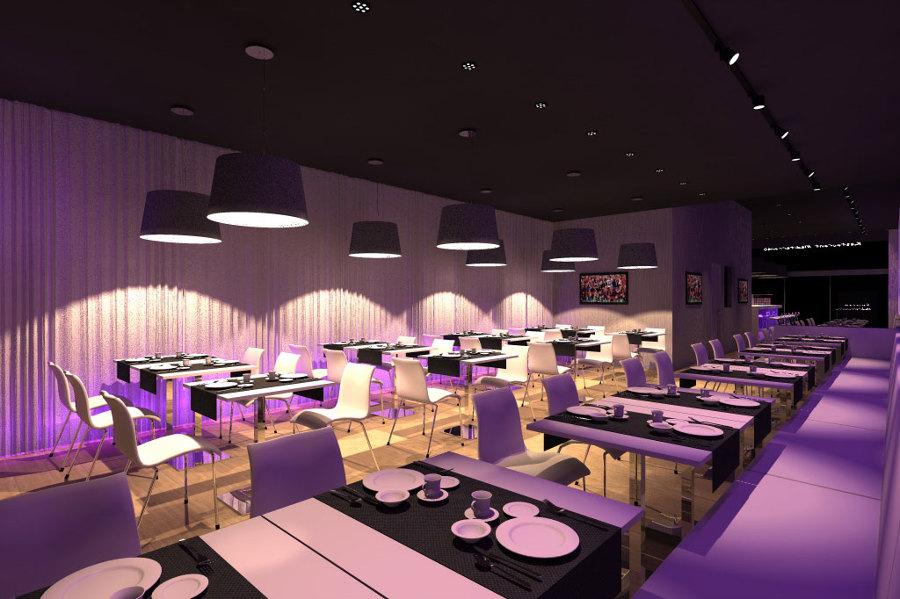 Foto ristorante design interni studioayd torino - Architetti d interni torino ...