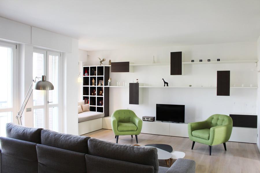 Appartamento milano idee ristrutturazione casa for Idee ristrutturazione appartamento