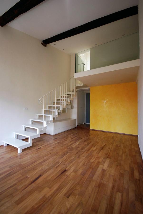 Progetto di ristrutturazione di appartamento con soppalco - Idee per ristrutturare un appartamento ...