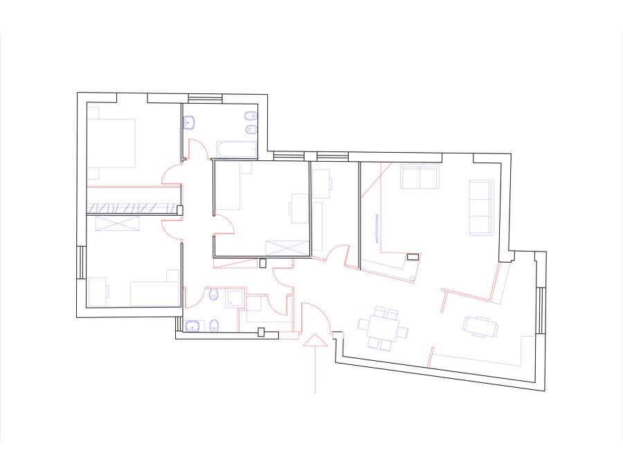Progetto di ristrutturazione appartamento idee for Progetto ristrutturazione casa gratis
