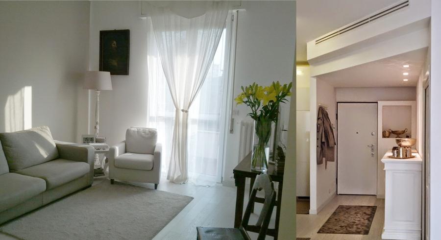 Progetto ristrutturazione appartamento e interior design for Idee ristrutturazione appartamento