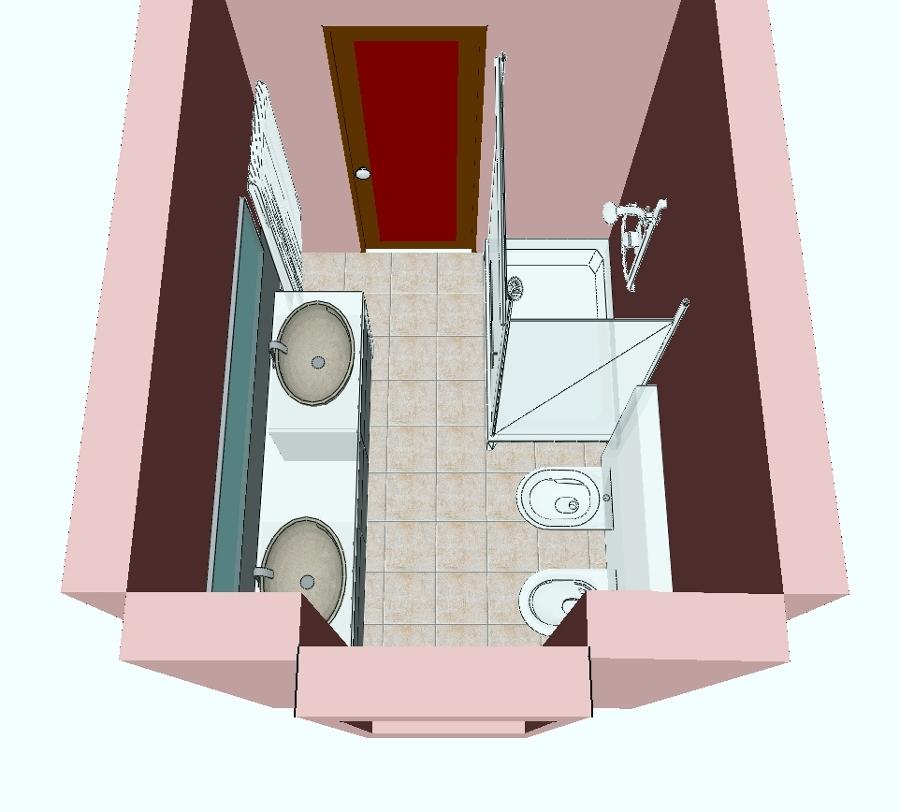 Progetto Bagno Con Doccia.Foto Ristrutturazione Bagno Di Progetto Casa S N C 106041