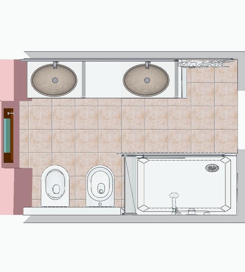 Progetto Ristrutturazione Bagno ~ home design, ispirazione ...