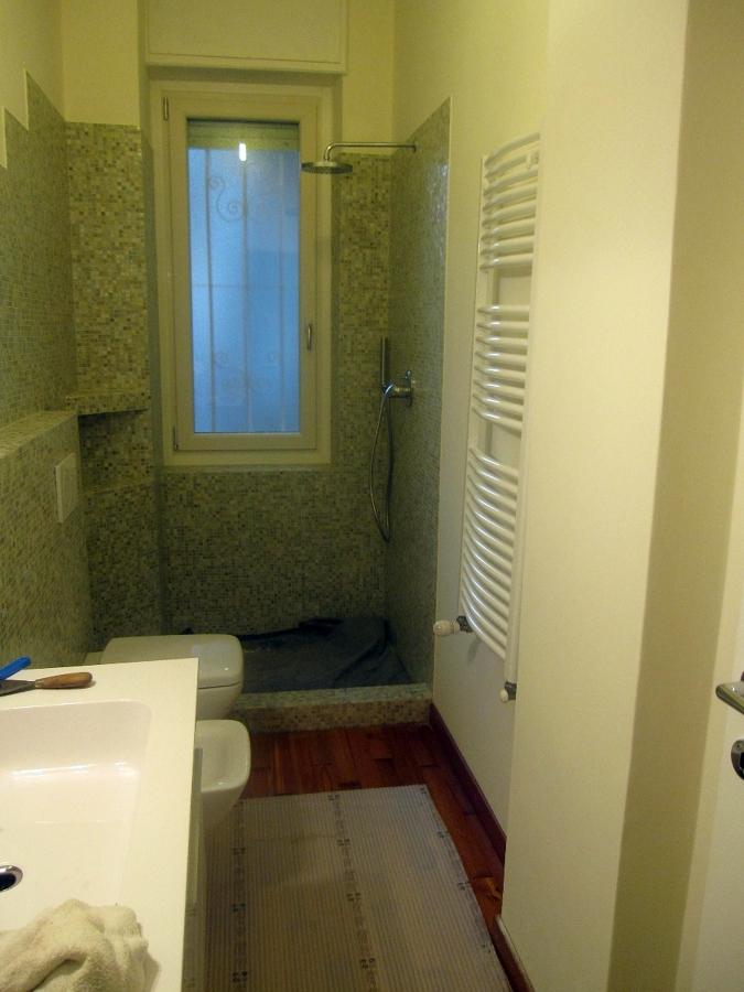 Progetto bagno con mosaico bisazza e piatto doccia filo pavimento idee ristrutturazione bagni - Mosaico bagno idee ...