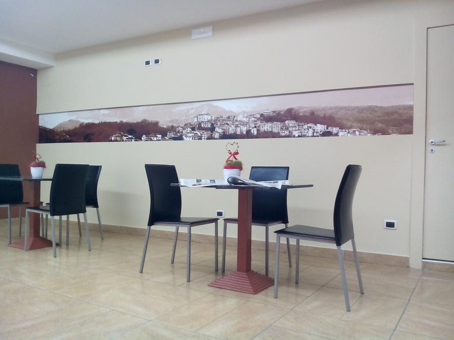 Ristrutturazione bar caffetteria architetto Claudio D'Onofrio