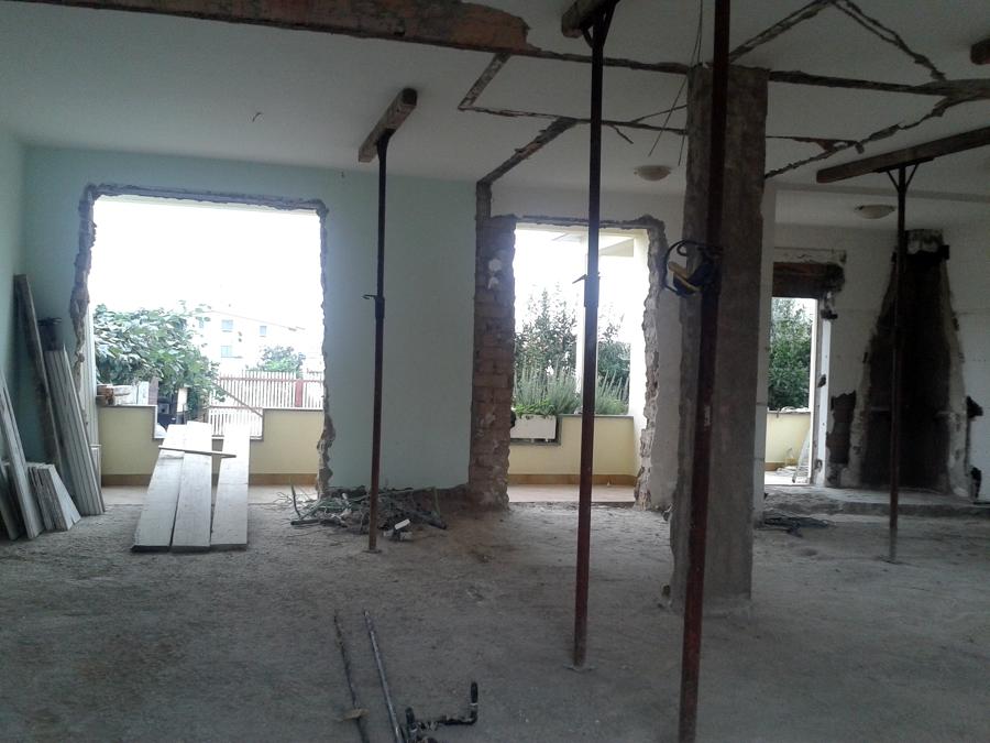 Progetto di ristrutturazione completa di un appartamento for Progetto di ristrutturazione
