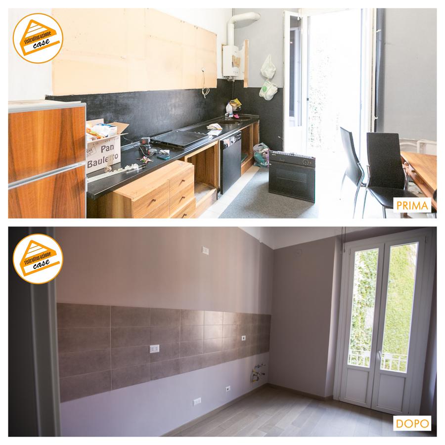 Foto ristrutturazione cucina di domus mea - Ristrutturazione cucina milano ...