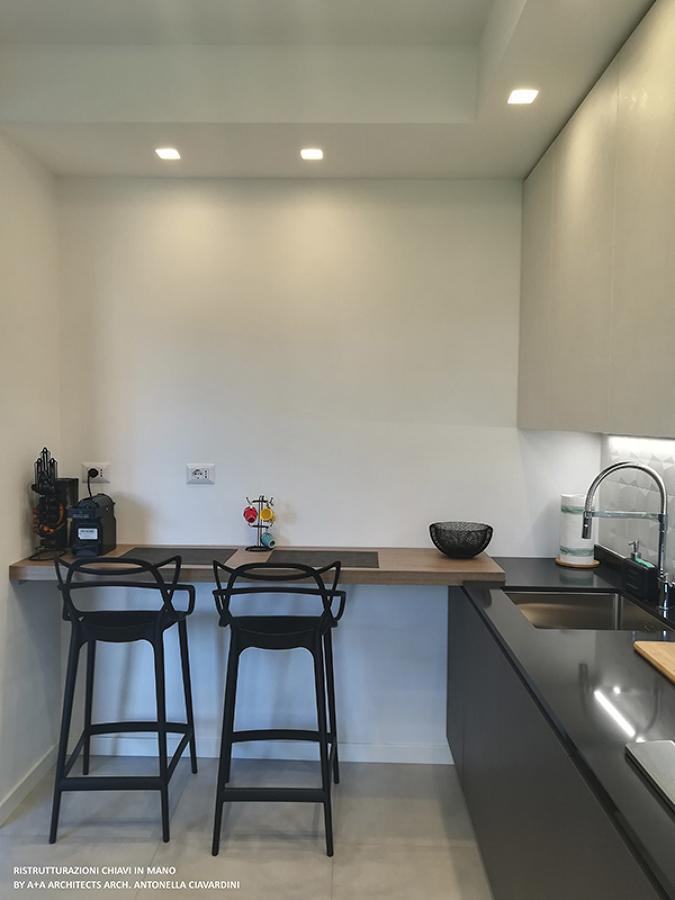 Ristrutturazione cucina a vista