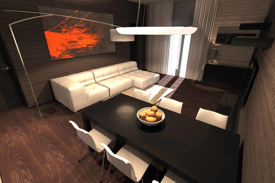 Progetto di interni appartamento idee ristrutturazione casa for Studio architettura interni torino