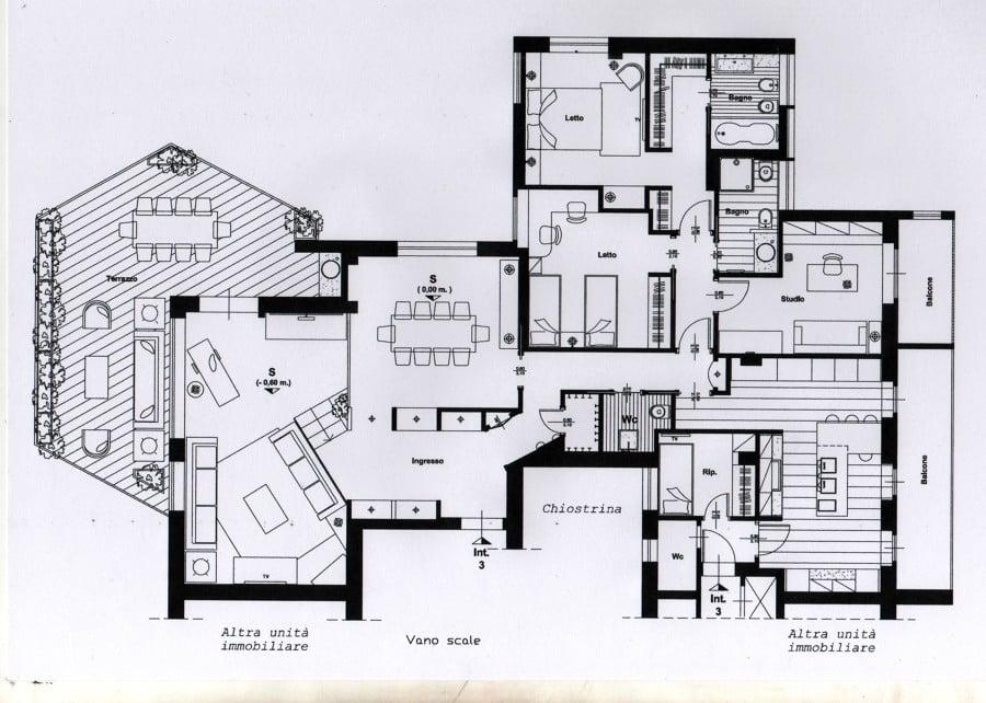 Progetto per ristrutturazione di un appartamento idee for Progetti per ristrutturare casa