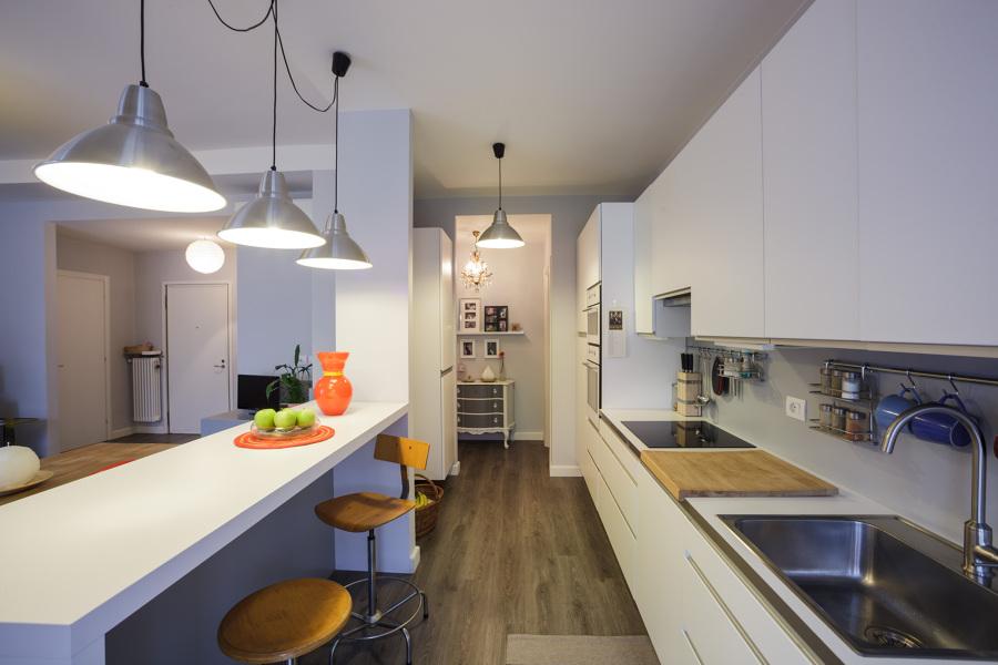 Foto ristrutturazione di una casa privata di cube edile for Ristrutturare appartamento 75 mq