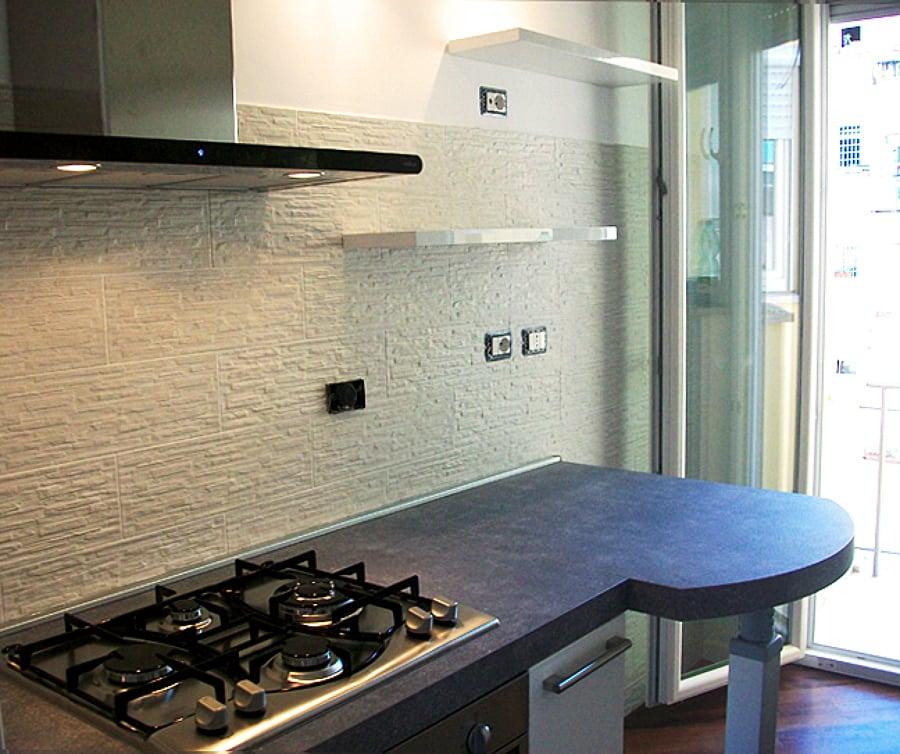 Progetto ristrutturazione cucina moderna idee ristrutturazione cucine - Ristrutturazione bagno e cucina ...
