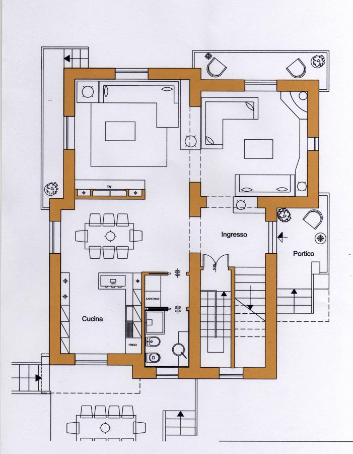 Ristrutturazione di una villa a San Felice al Circeo
