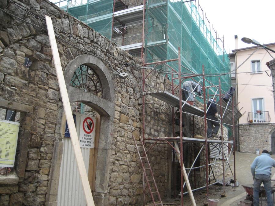 ristrutturazione fabbricato in muratura