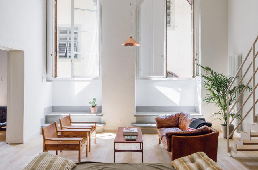 una casa dall 39 aspetto moderno nella culla del rinascimento