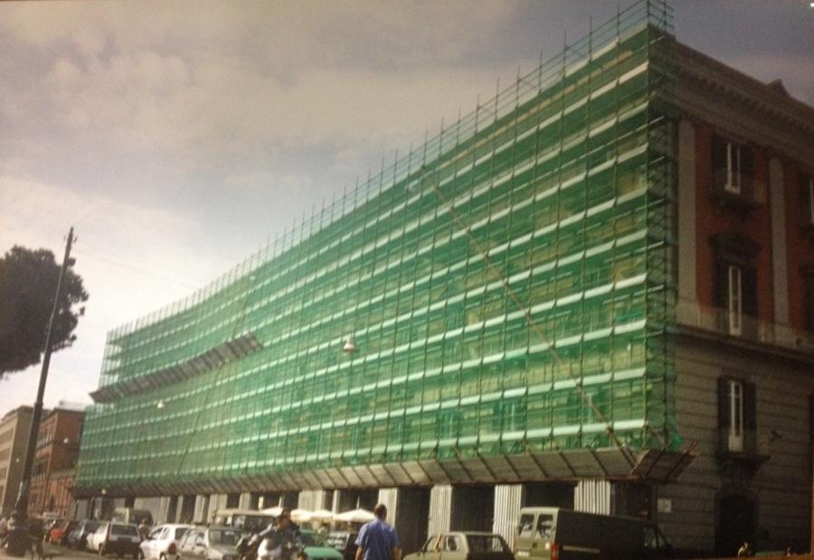 ristrutturazione, restauro, consolidamento facciata fabbricato P.zzo Salerno