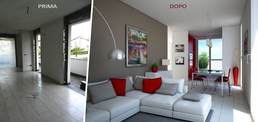 Foto ristrutturazione soggiorno di marilisa dones 416075 for Immagini di appartamenti moderni
