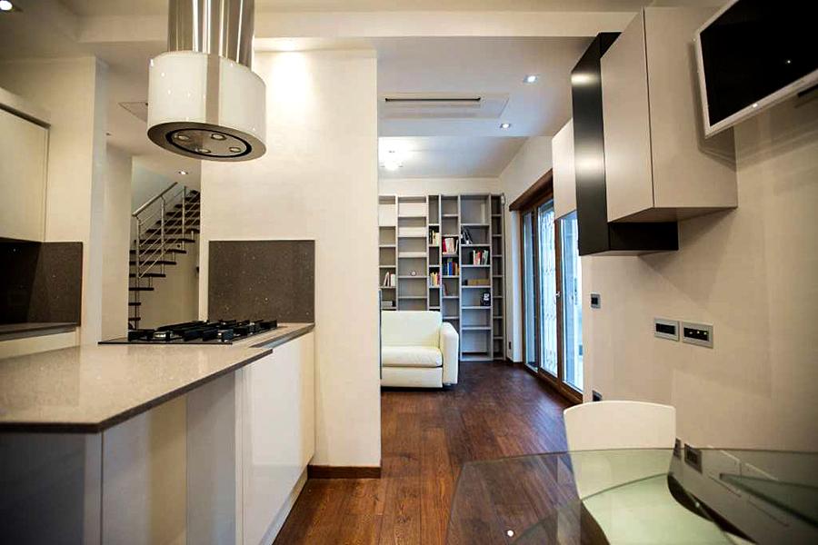Progetto di ristrutturazione appartamento a roma idee for Progetto di ristrutturazione