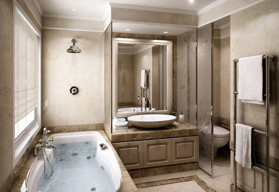 Progetto lavori di ristrutturazione a taurisiano le idee riscaldamento - Mobili per bagni classici ...