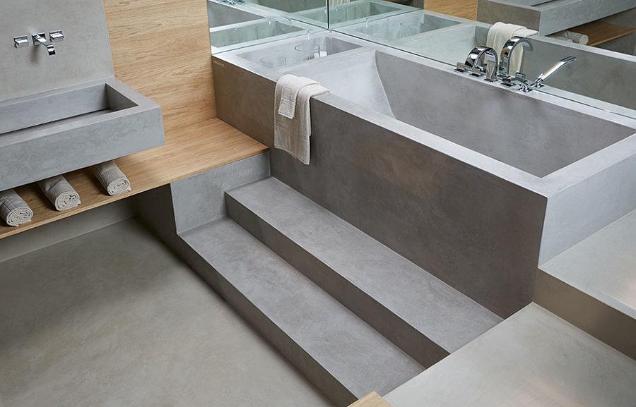rivestimento bagno resina