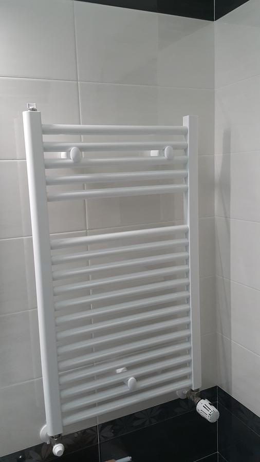 Foto rivestimento del bagno e montaggio termoarredo di - Foto rivestimento bagno ...