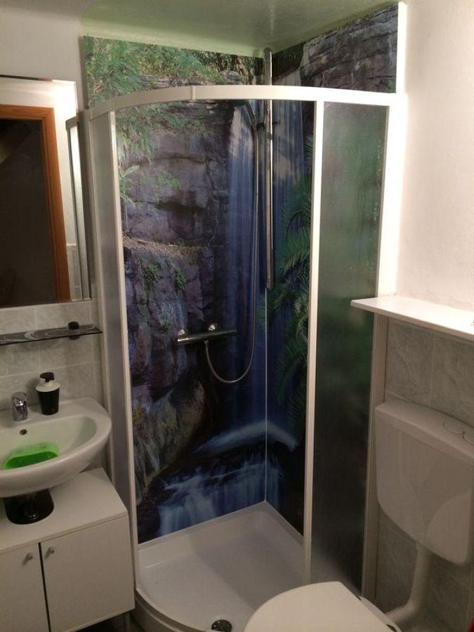 progetto di rivestimento interno doccia idee