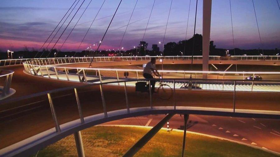 Rotatoria per soli ciclisti