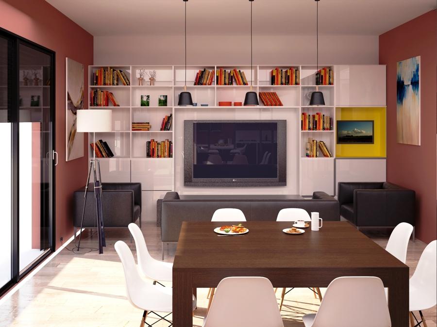 Progetto di ristrutturazione con cambio d 39 uso da ufficio - Cambio destinazione d uso da ufficio ad abitazione ...