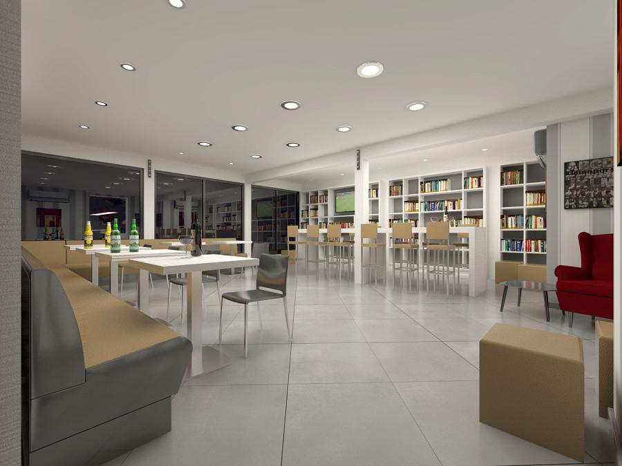 Sala consumazione e lettura