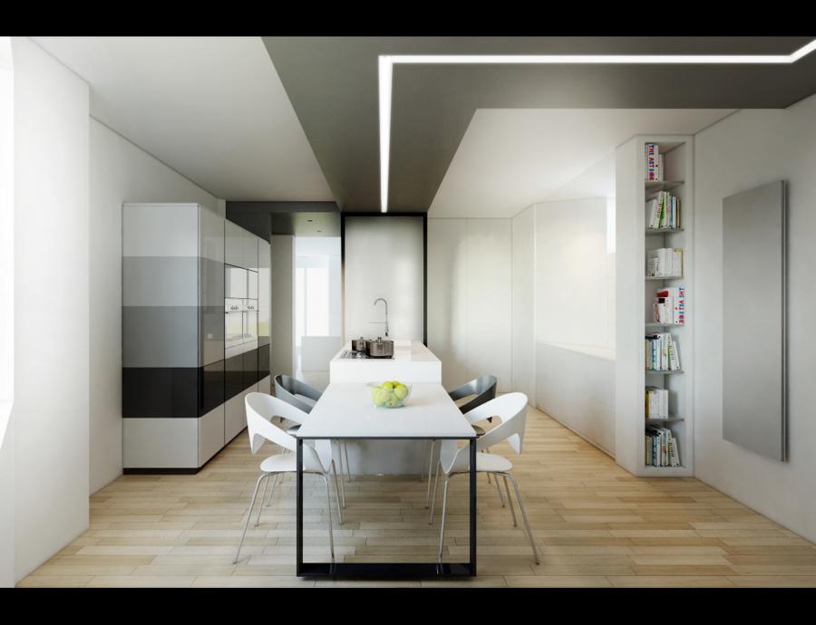 Ristrutturazione appartamento idee architetti for Idee ristrutturazione appartamento