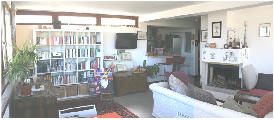 Sala da pranzo e cucina