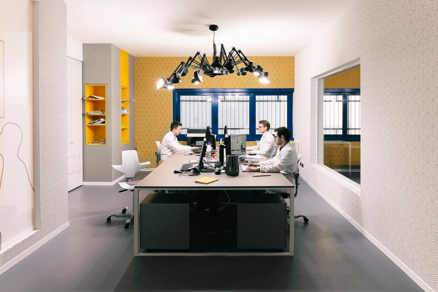 Sala di Stampa e laboratorio