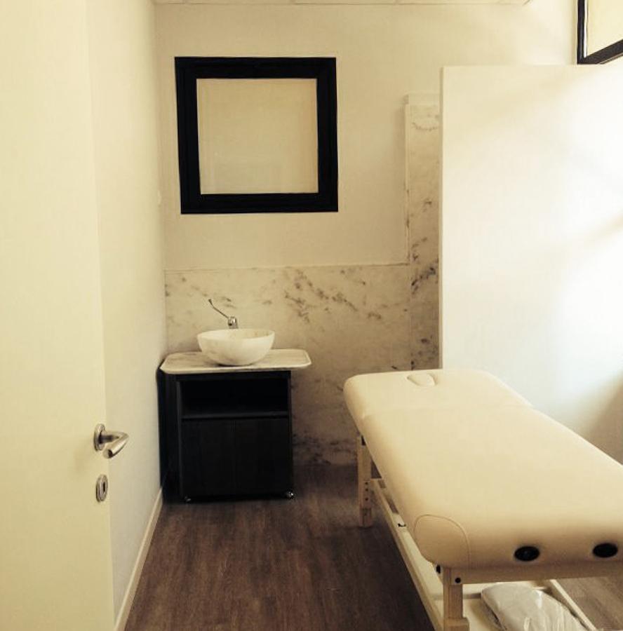 Sala massaggi. Centro estetico.