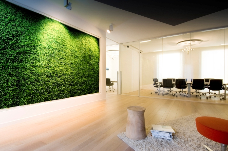 Progetto uffici il prisma milano idee ristrutturazione - Colori pareti ufficio ...