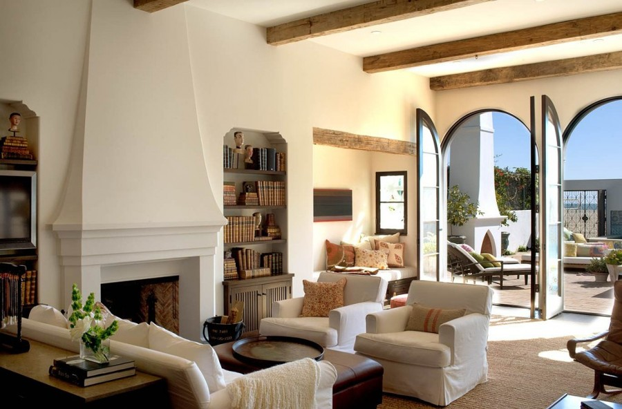Case Mobili Stile Mediterraneo : Come arredare un salotto in stile mediterraneo idee interior designer