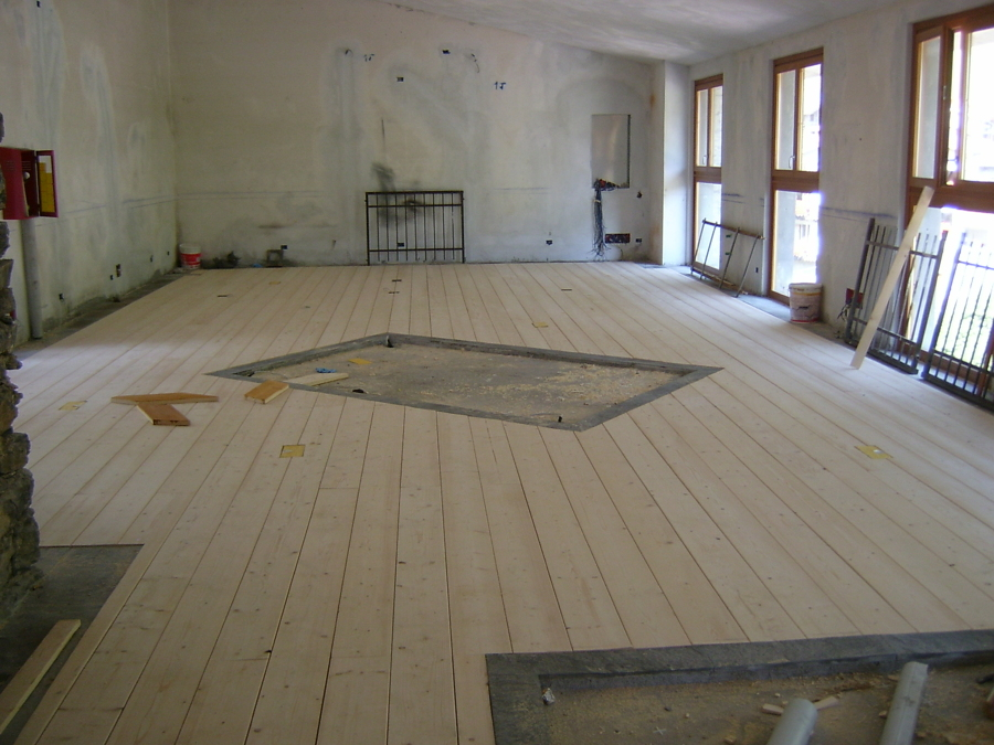 Salone interno museo della miniera