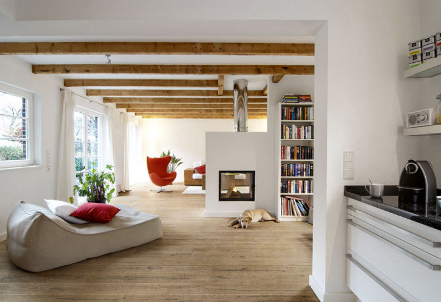Progetto sfruttare al meglio gli spazi disponibili idee for Soggiorni moderni in pietra