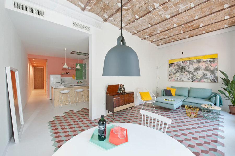Foto: Salone Sala da Pranzo e Cucina In uno Spazio di Francesco ...