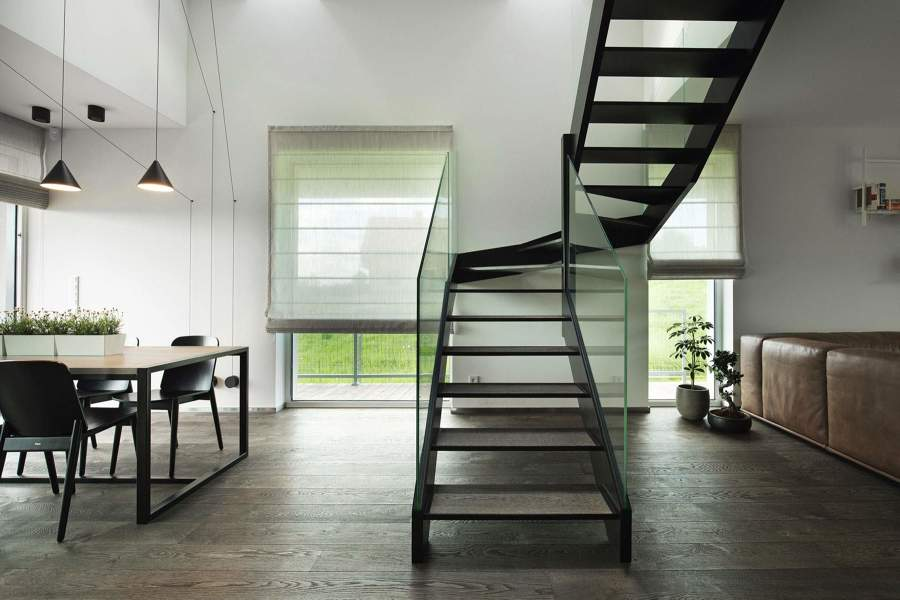 salone stile minimal