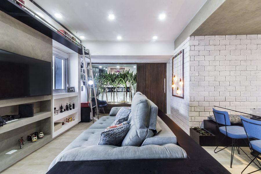 Salotto in stile urban