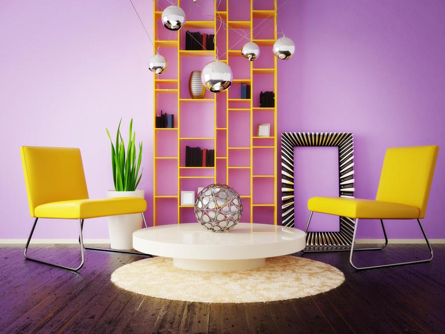 Salotto Colore Giallo : Il giallo un colore caldo e solare idee interior designer