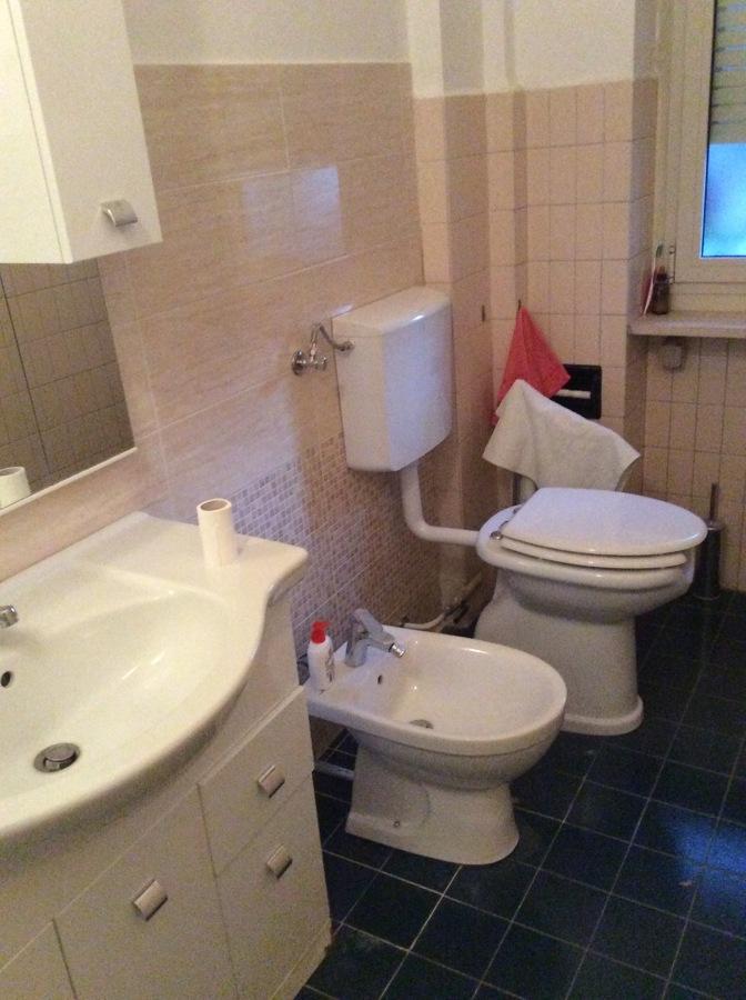 Sanitari sostituiti, e montato wc per disabili.