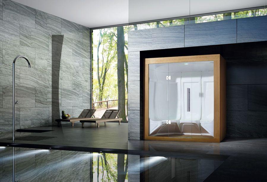 sauna moderna