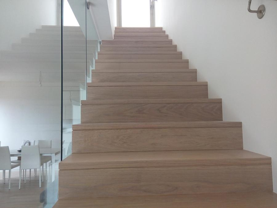 Progetto di rivestimento di una scala in legno idee parquettisti - Progetto scale interne ...