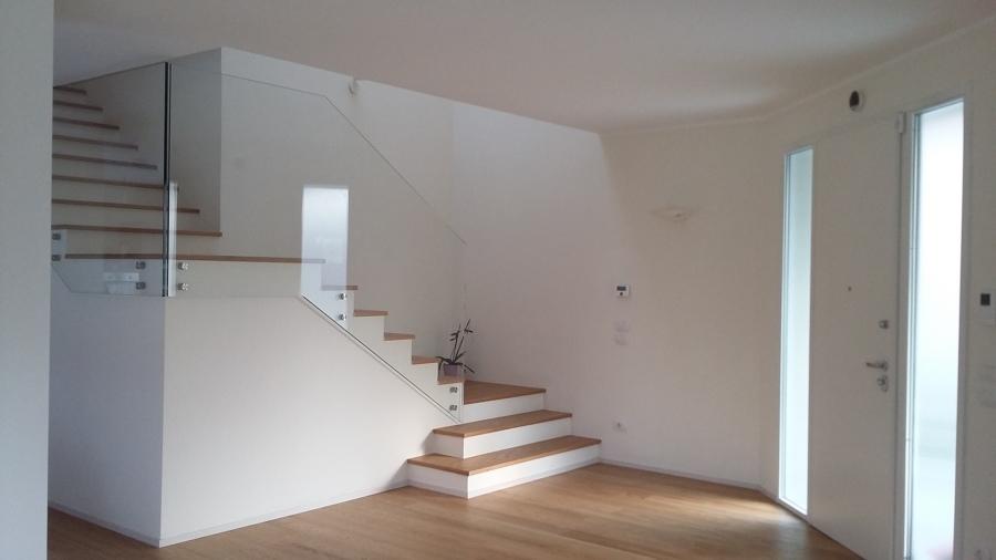 scala legno e vetro