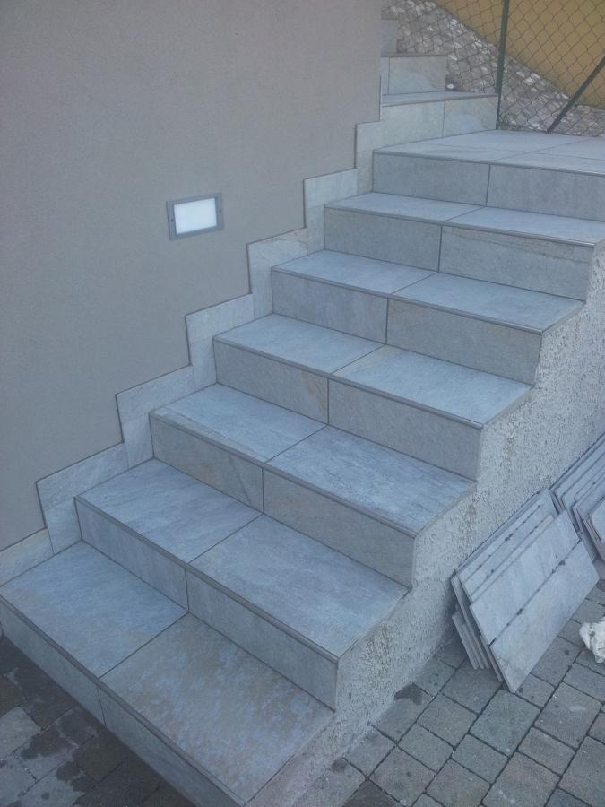 Foto scale da esterno di ristrutturazioni edili 266171 - Scale da esterno in muratura ...
