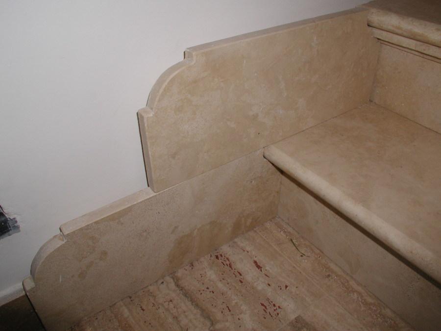 scale in marmo e granito