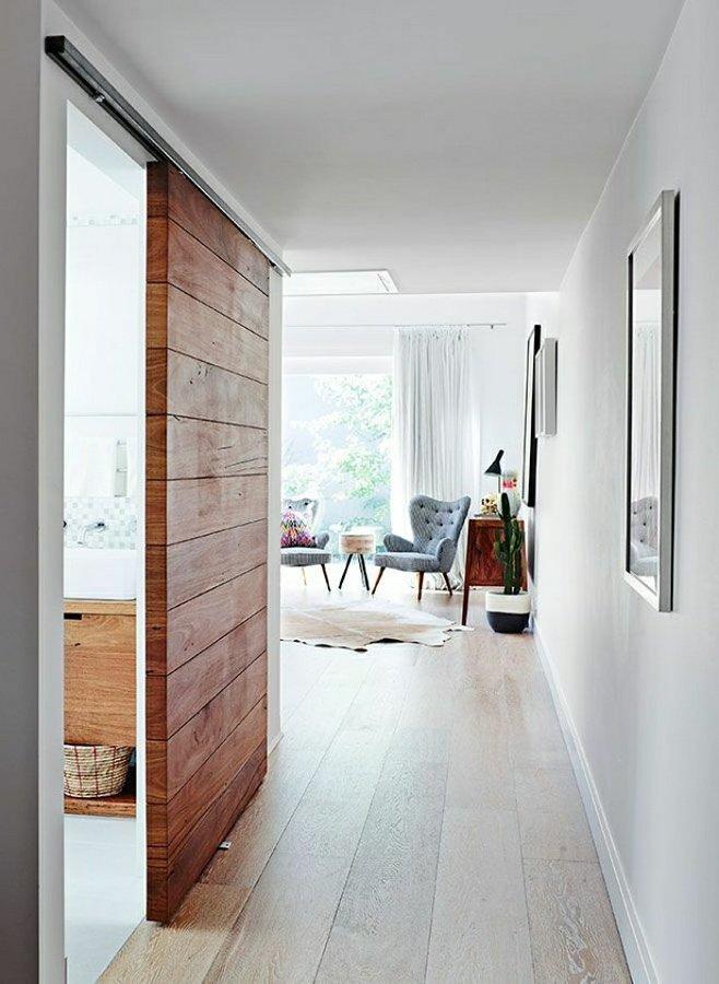 Fai da te costruisciti una porta scorrevole con i pallet - Costruire porta scorrevole ...