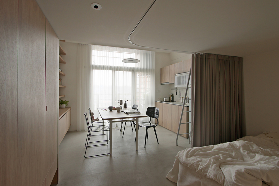 Foto separare gli spazi con le tende di rossella - Tende per sopra il letto ...