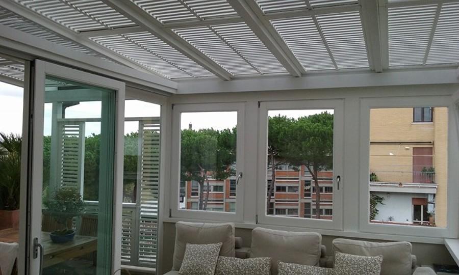 Finestra centinata fissa idee fabbri - Imbotti in alluminio per finestre ...